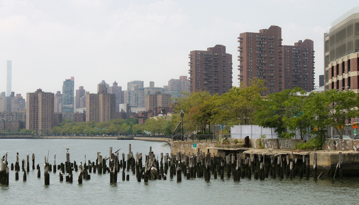 Along East River NYC