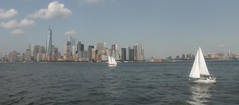 I am sailing, home again 'cross the sea....